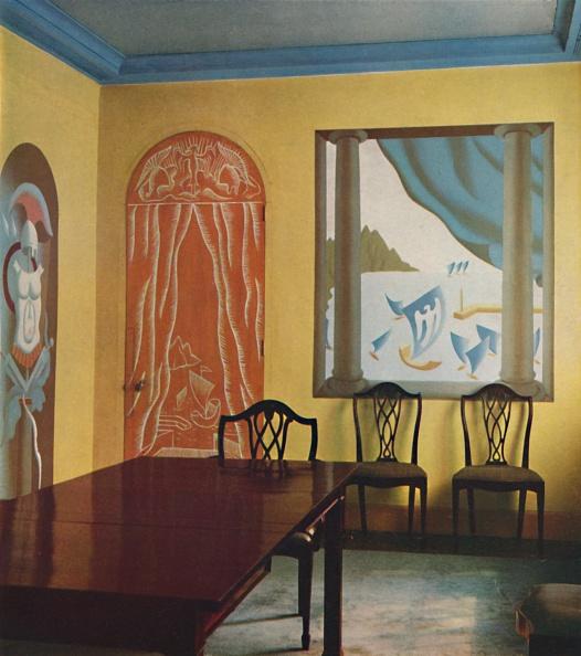 Art Deco「Wall Decorations In A Flat At Portman Court」:写真・画像(10)[壁紙.com]