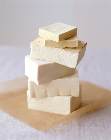 Tofu「Blocks of tofu arranged in stack」:スマホ壁紙(6)