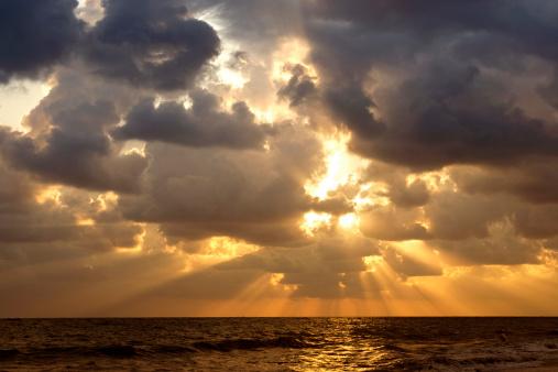 Cumulus Cloud「Dramatic sunset」:スマホ壁紙(7)