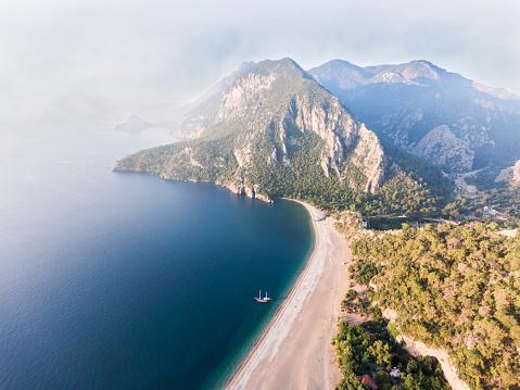 Antalya Province「Amazing aerial view of Olympos in Antalya」:スマホ壁紙(19)
