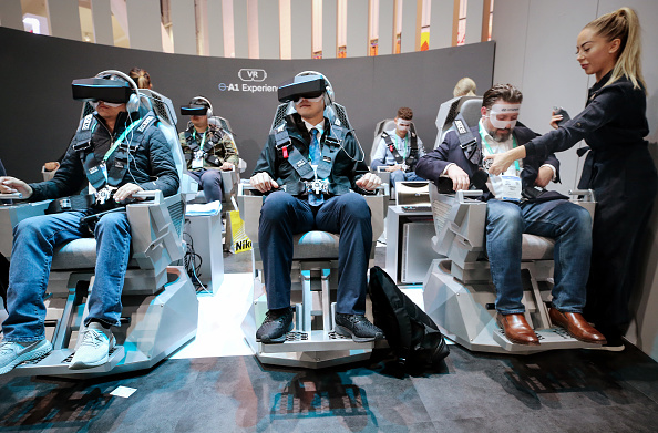 Virtual Reality「Latest Consumer Technology Products On Display At Annual CES In Las Vegas」:写真・画像(17)[壁紙.com]