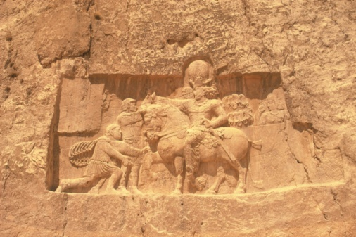 Iranian Culture「Wall relief from the site of Persepolis, Iran, Low Angle View」:スマホ壁紙(10)