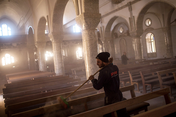Christianity「Christian Towns liberated From Islamic State Prepare For Christmas」:写真・画像(14)[壁紙.com]