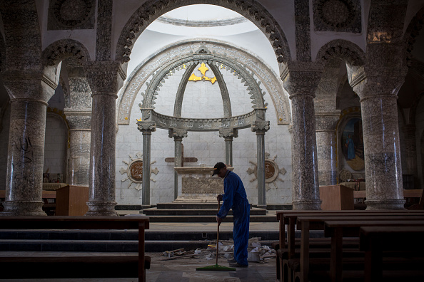 Christianity「Christian Towns liberated From Islamic State Prepare For Christmas」:写真・画像(15)[壁紙.com]