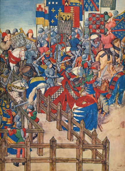 Circa 14th Century「End Of The Tournament At Bruges」:写真・画像(10)[壁紙.com]