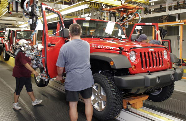 ダイムラーAG「Jeep Wrangler Built In Toledo Assembly Plant」:写真・画像(2)[壁紙.com]