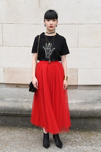 Spring Collection「Dior Homme : Front Row  - Paris Fashion Week - Menswear Spring/Summer 2018」:写真・画像(10)[壁紙.com]