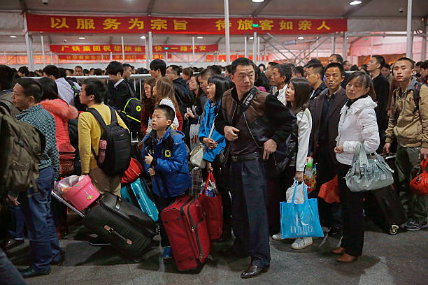 Chinese New Year Travel Chaos In Full Flow:ニュース(壁紙.com)