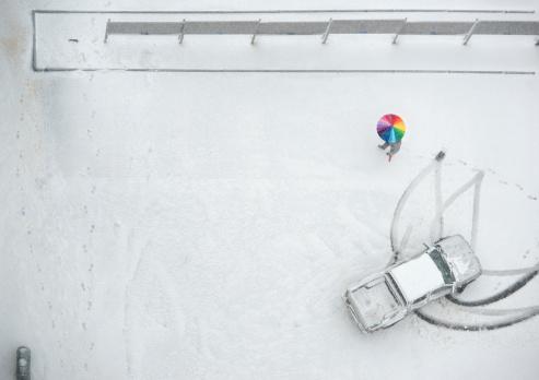 Snowdrift「tire trucks in snow」:スマホ壁紙(6)