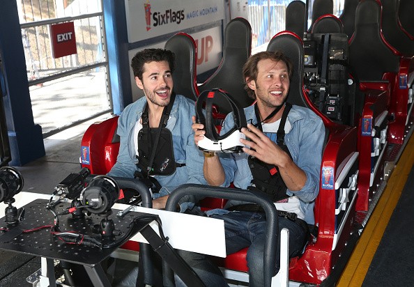 Amusement Park「Samsung And Six Flags Debut The First Virtual Reality Coaster Powered By Samsung Gear VR At Six Flags Magic Mountain」:写真・画像(5)[壁紙.com]