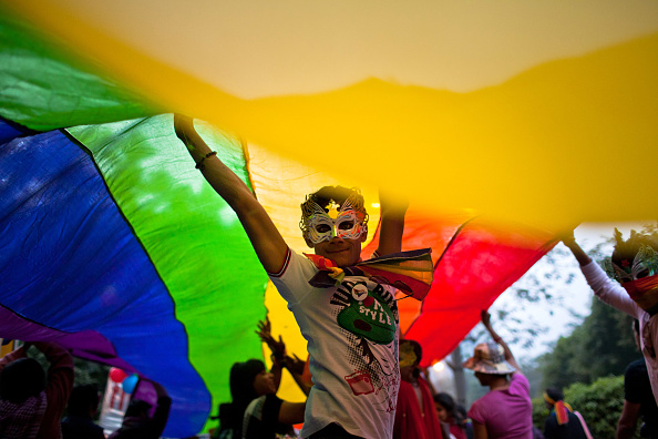 India「Indias LGBT Community Celebrates 4th Queer Pride March」:写真・画像(4)[壁紙.com]