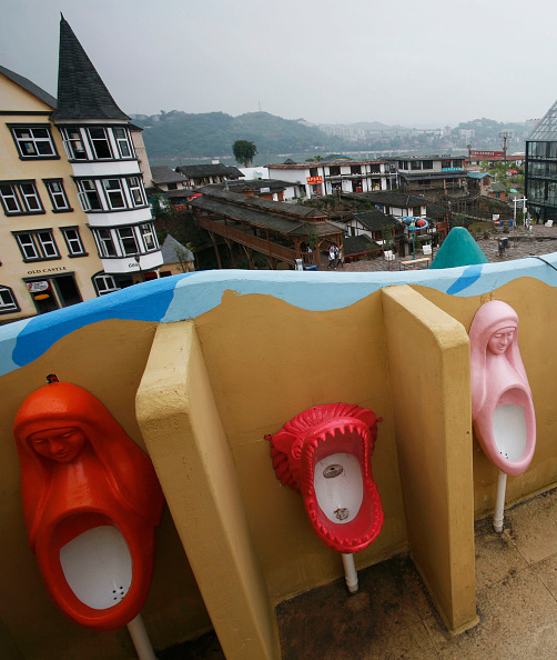 Bathroom「Specially Designed Wash Basins And Toilets In Chongqing」:写真・画像(19)[壁紙.com]