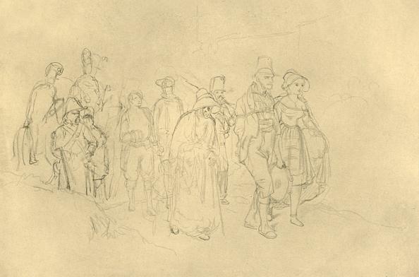 Pencil「Eingebrachte Zigeuner」:写真・画像(1)[壁紙.com]
