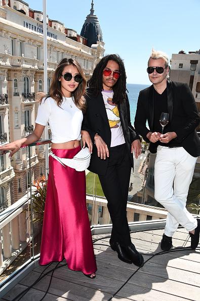 Full Suit「Bodvár House of Rosés & La Journée Host Cannes Welcome Reception At 3.14 Hotel Honoring Luka Sabbat」:写真・画像(14)[壁紙.com]