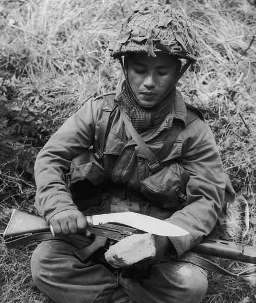 Sharpening「Gurkha Rifleman」:写真・画像(10)[壁紙.com]