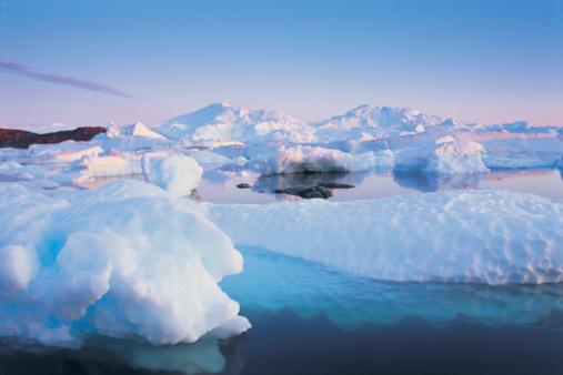 2002「Greenland, Disko Bay, sunset」:スマホ壁紙(15)