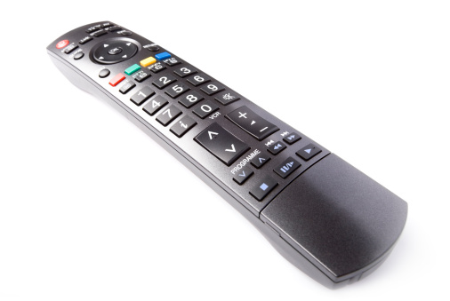 Remote Control「TV remote control, isolated on white background」:スマホ壁紙(13)