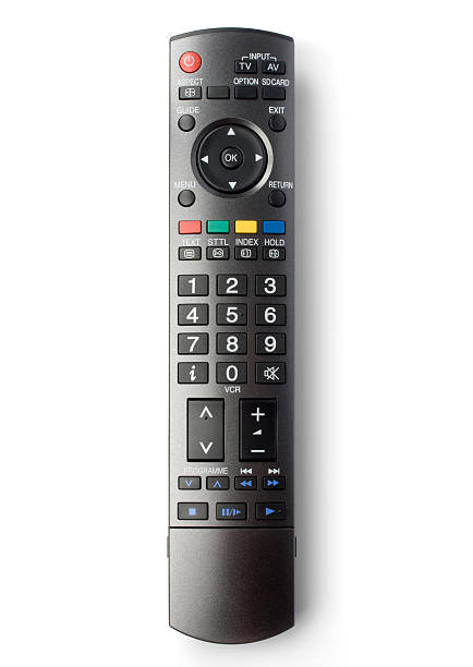 TV remote control (clipping path), isolated on white background:スマホ壁紙(壁紙.com)