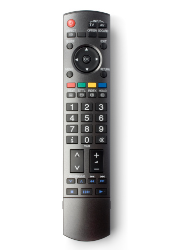 Remote Control「TV remote control (clipping path), isolated on white background」:スマホ壁紙(0)