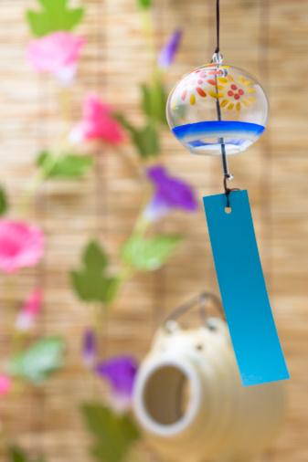 Morning Glory「Wind Bell」:スマホ壁紙(1)