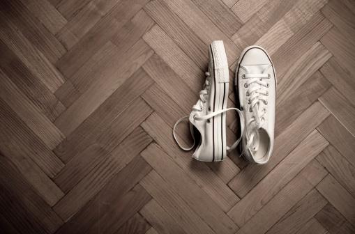 ペア「キャンバスの靴」:スマホ壁紙(19)