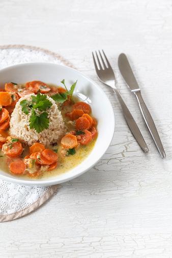 Basmati Rice「Wholegrain basmati rice with carrots and peanut sauce」:スマホ壁紙(11)