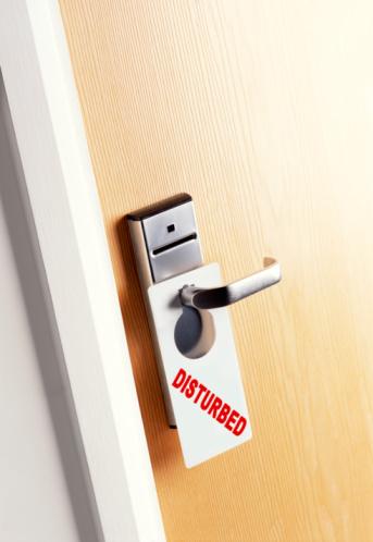 Psychiatric Hospital「Disturbed door sign.」:スマホ壁紙(3)