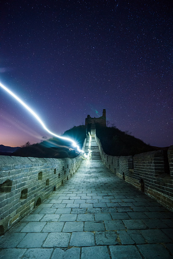 star sky「万里の長城のスカイ」:スマホ壁紙(15)