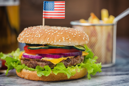 Fourth of July「Burger for 4th of July」:スマホ壁紙(5)