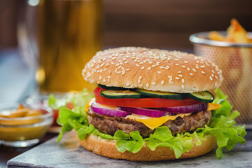 Fourth of July「Burger for 4th of July」:スマホ壁紙(1)