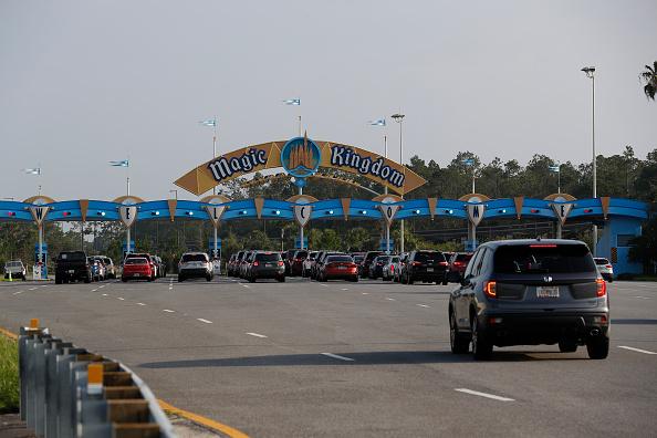 Magic Kingdom「Disney Reopens Its Magic Kingdom and Animal Kingdom Parks」:写真・画像(1)[壁紙.com]