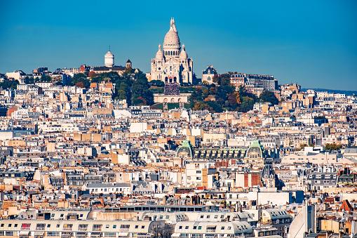 City Break「Basilique Du Sacre Coeur, Montmartre, Paris - France」:スマホ壁紙(5)