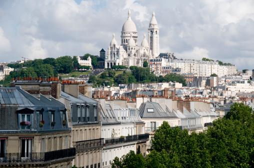 Montmartre「Basilique du Sacre Coeur」:スマホ壁紙(13)