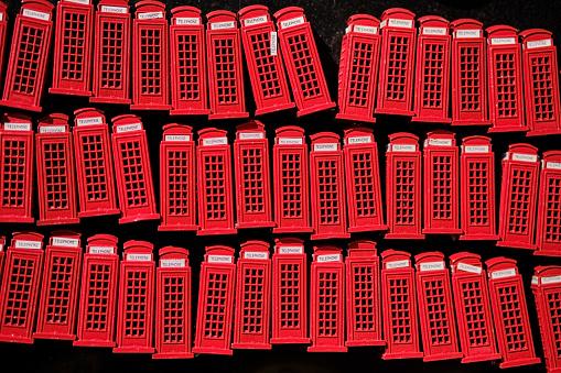 Souvenir「UK, London, Camden Town, telephone booth souvenirs」:スマホ壁紙(13)