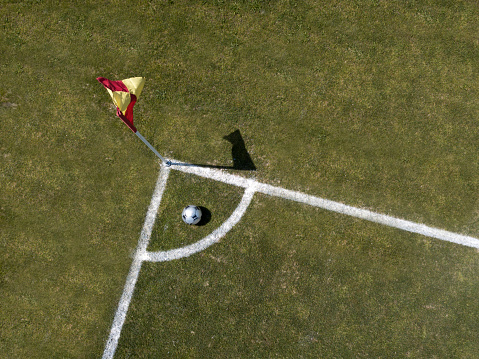 Corner「corner arc, football field, aerial view」:スマホ壁紙(16)