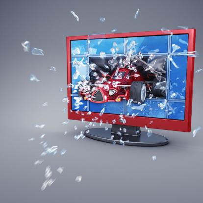Hot Rod Car「3d tv」:スマホ壁紙(2)