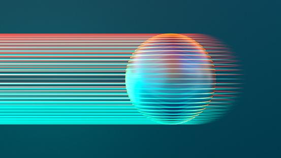 Sphere「Glowing sphere」:スマホ壁紙(1)