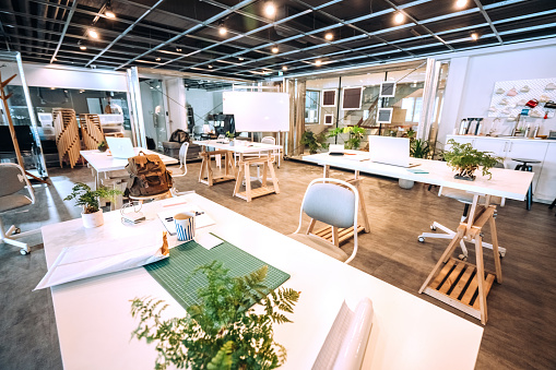 Open Plan「Wide Co-working Space」:スマホ壁紙(14)