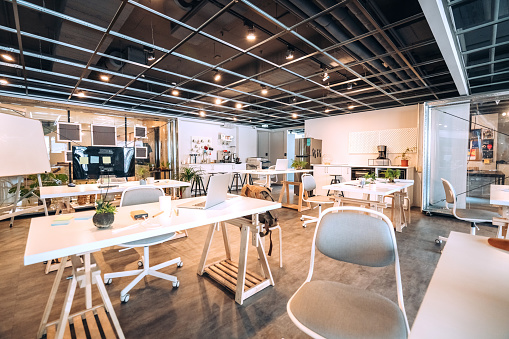 Open Plan「Wide Co-working Space」:スマホ壁紙(2)