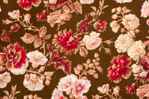 Floral Pattern「Gobelin Close Up」:スマホ壁紙(11)
