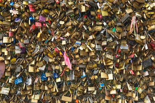 Love fortune「Padlocks on the Pont des Arts.」:スマホ壁紙(18)