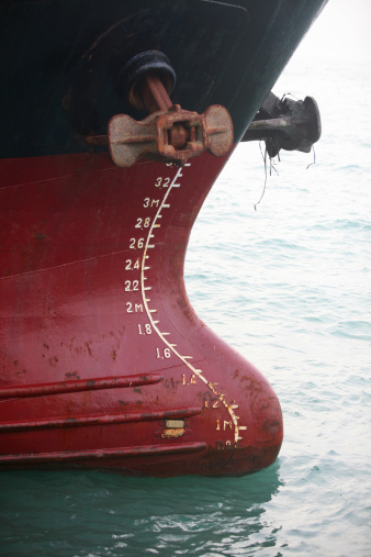 Anchor - Vessel Part「Depth marker on industrial ship.」:スマホ壁紙(3)