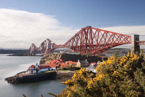 19th Century「Firth of Forth Rail Bridge in Edinburgh Scotland」:スマホ壁紙(8)