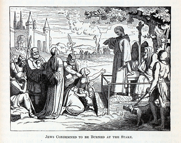 Post - Structure「Jews Condemned to be Burned at the Stake, 1882」:写真・画像(9)[壁紙.com]