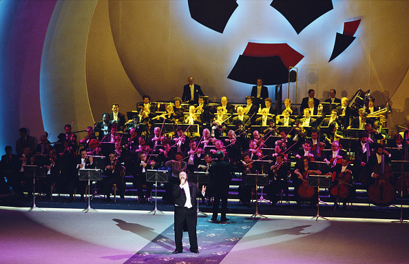 Club Soccer「Luciano Pavarotti sings at the 1990 FIFA World Cup Draw...」:写真・画像(6)[壁紙.com]