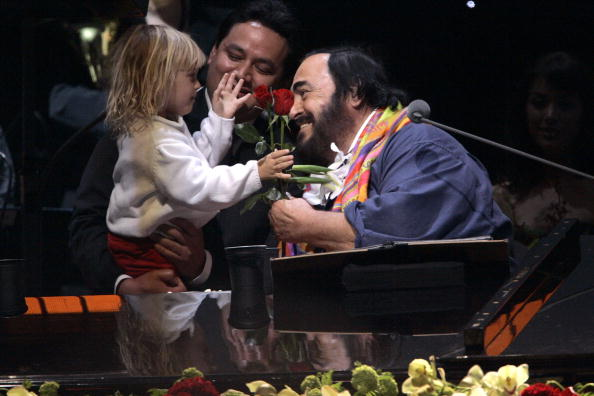 Jeff Brass「Luciano Pavarotti Concert」:写真・画像(1)[壁紙.com]