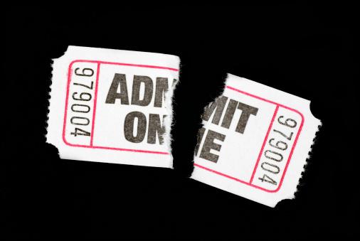 Ticket「Torn admission ticket」:スマホ壁紙(2)