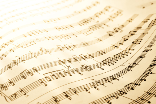 Compatibility「Sheet of musical symbols」:スマホ壁紙(6)
