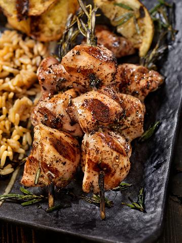 Brown Rice「BBQ, Rosemary Chicken Skewers」:スマホ壁紙(11)