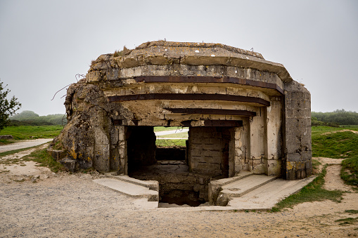 Nazism「German Bunker at La Pointe du Hoc」:スマホ壁紙(5)
